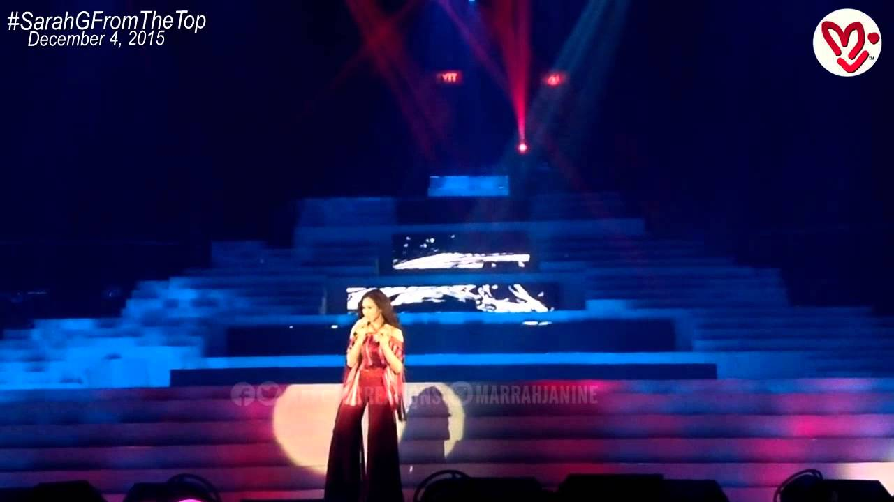 IF ONLY - Sarah Geronimo From The Top (Dec 4, 2015) - YouTube