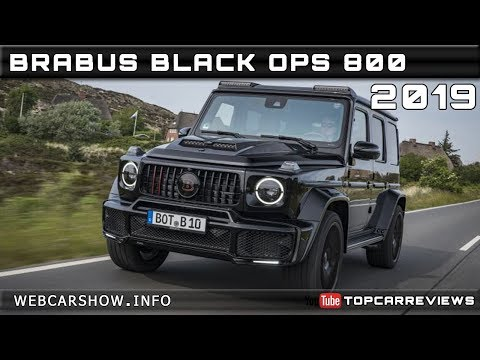2019 BRABUS BLACK OPS 800 Review Rendered Price Specs Release Date