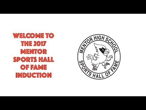 2017 Mentor Sports Hall of Fame Induction