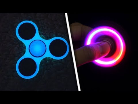 Thumbnail: TOP 5 ULTIMATE Ways to Customize Your Fidget Spinner! (Make ANY Fidget Spinner Glow In The Dark)