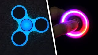 TOP 5 ULTIMATE Ways to Customize Your Fidget Spinner! (Make ANY Fidget Spinner Glow In The Dark)