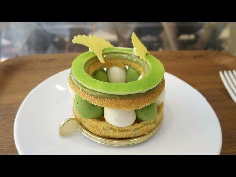 """Japan's Dominique Ansel Bakery - Exclusive """"Paris-Tokyo"""" Cake"""