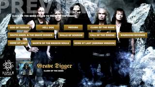 GRAVE DIGGER - Clash of the Gods (Preview) | Napalm Records