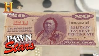 Pawn Stars Trivia: Military Payment Certificate | History