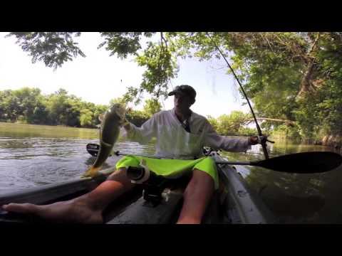 Kayak Fishing the Colorado River (Austin)