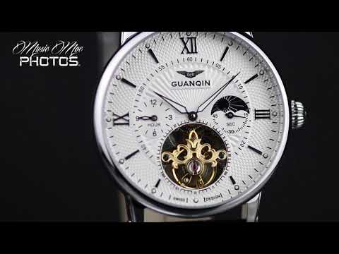 Product Cinematography Guanqin & Cadisen Automatic Watches 36mins #MusicMoePhotos