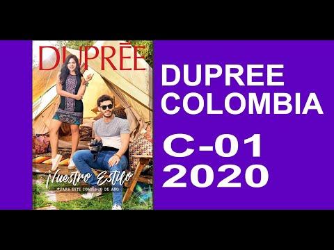 Catalogo 01 2020 / Dupree Colombia