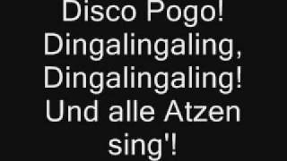 Disco Pogo - Lyrics