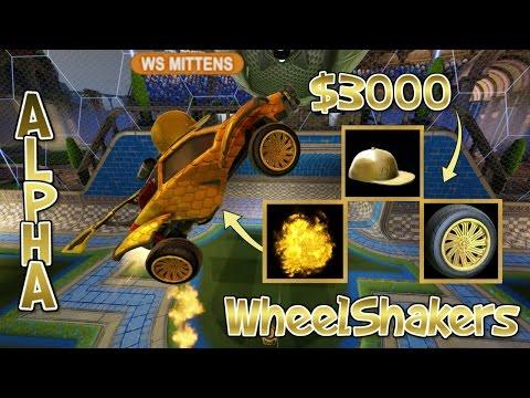 I GOT FULL ALPHA IN ROCKET LEAGUE?! + WheelShakers Ranked Gameplay ( TheCampingRusher & Jake )