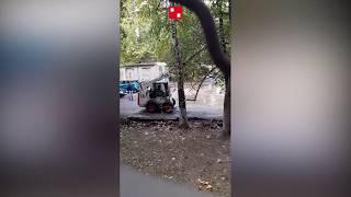 Танец трактора вместо ремонта