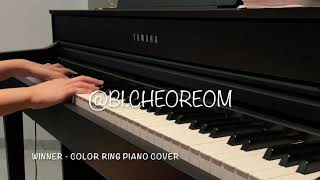 WINNER - COLOR RING Piano Cover