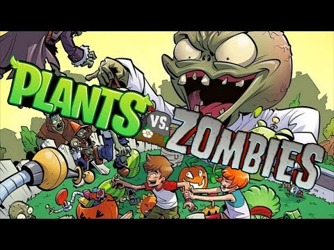 Растения против Зомби ГОРОХОСТРЕЛ против ЙЕТИ Plants vs zombies