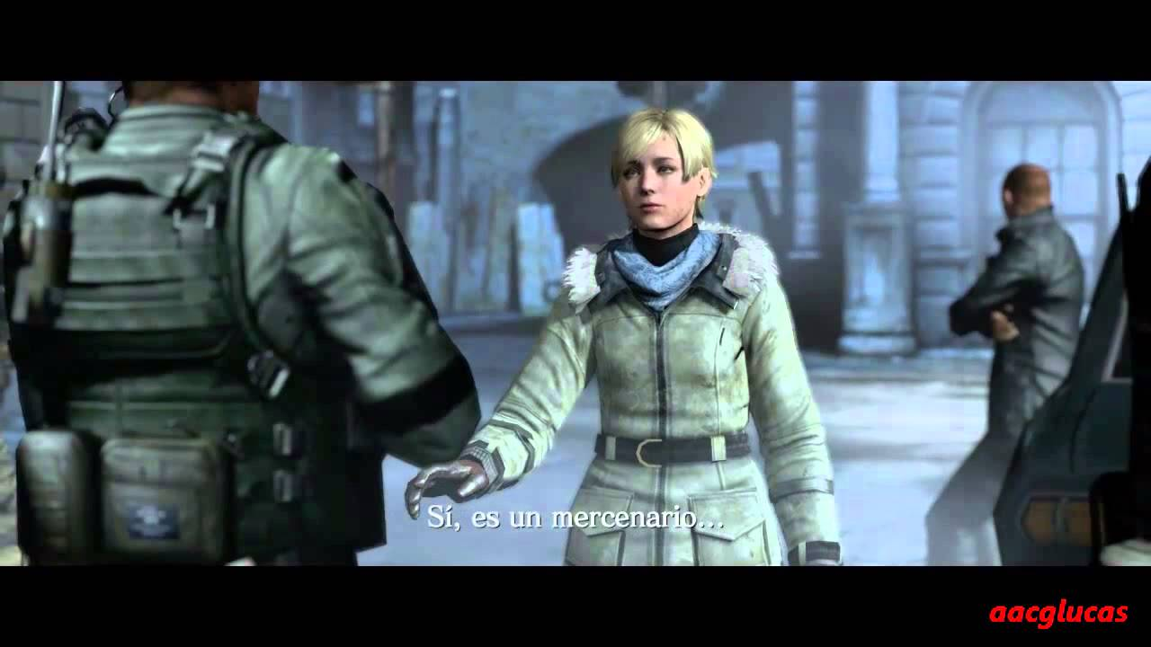 RESIDENT EVIL 6 jake and sherry rocket launcher death