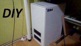 DIY custom PC case / Výroba PC skříně