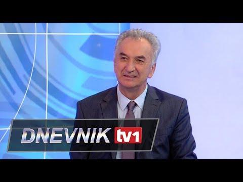 Gost Dnevnika TV1 - Mirko Šarović, ministar vanjske trgovine BIH