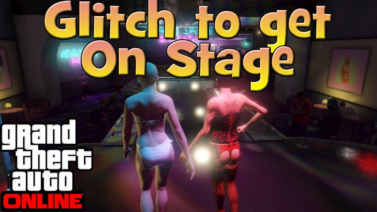 That strip games on stage those on!