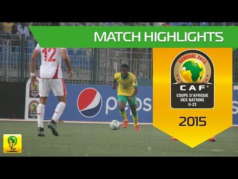South Africa vs Tunisia | U-23 Africa Cup Of Nations, SENEGAL 2015