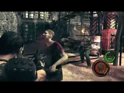 RESIDENT EVIL5 #4 Shadows audio issues Viles terrible song