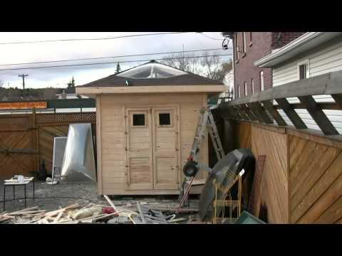 a shed that Al built