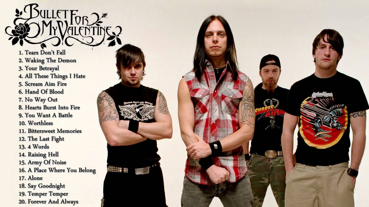 Bullet For My Valentineu0027s Greatest Hits | The Best Of Bullet For My  Valentine   YouTube