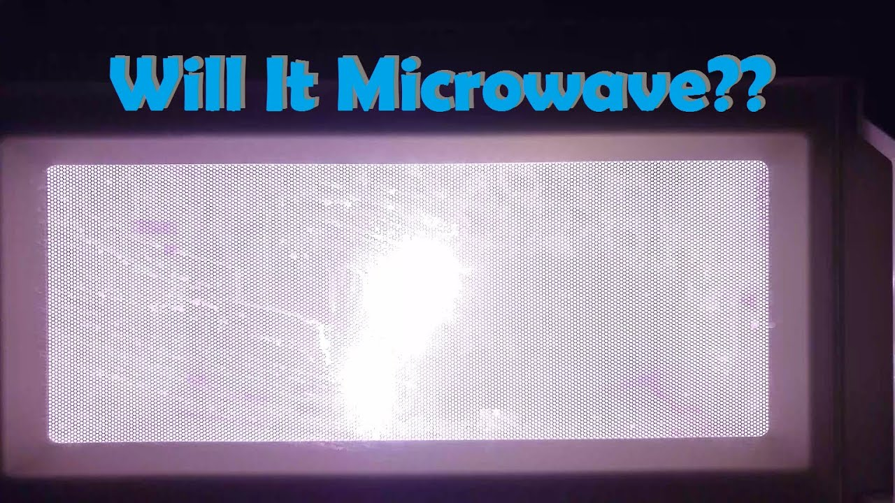 Will It Microwave Galaxy Note 2 Ping Pong Soda Can And Bottlerockets