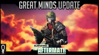 The GREAT MINDS Update (Tech Overhaul) - Surviving The Aftermath - Survival Colony Builder