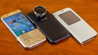 Обзор оригинальных аксессуаров для Samsung Galaxy S7 и S7 Edge от Ferumm.com(, 2016-04-01T10:01:43.000Z)