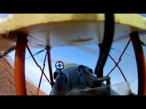 RC SE5 WWI Aircraft Solo Flight