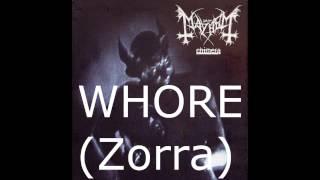 MayheM - Whore Subtitulos en Español