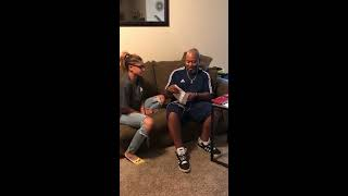 Daughter Surprises Dad With Adoption Papers - 989174