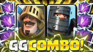 IMPOSSIBLE TO DEFEND THIS!! NEW DOUBLE PRINCE DECK in Clash Royale!