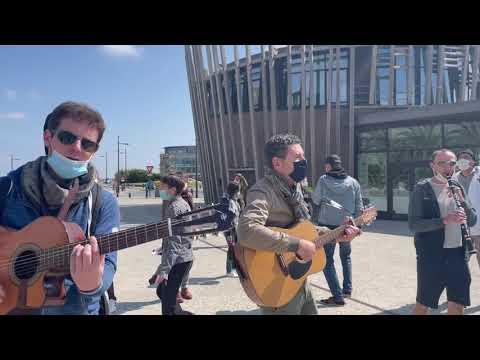 Danser encore #3 ! Flashmob, St-Malo, le 01.05.2021