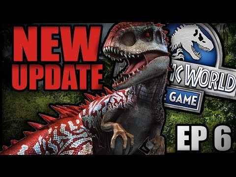 PRIZE DROPS + NEW UPDATE!!! - Jurassic World: The Game - Part 6 HD