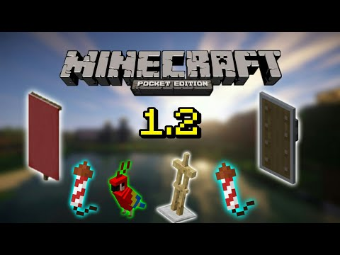 Minecraft PE Update 1.2 BETA - Armor Stand,banner - MCPE Indonesia
