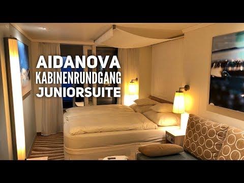 AIDAnova Kabinenrundgang: Junior Suite (9275)