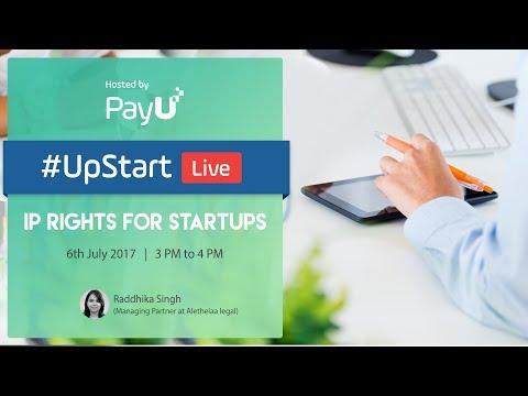 UpStart Live 16 - IP Rights for Startups