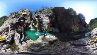 CANYONING RIO VERDE (experiencia 360 º) EDUCARE AVENTURA NERJA