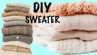 2017 DIY Compilation Sweater & T-shirt You Want to TRY NEXT