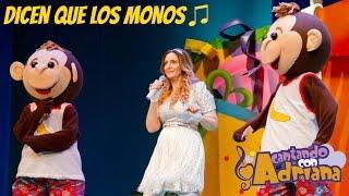 DICEN QUE LOS MONOS - Cantando con Adriana - Canciones infantiles (en vivo)