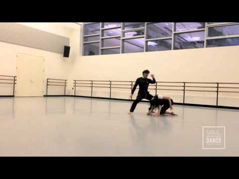 2014 Vail International Dance Festival in Rehearsal: New Work with Fang-Yi Sheu & Herman Cornejo