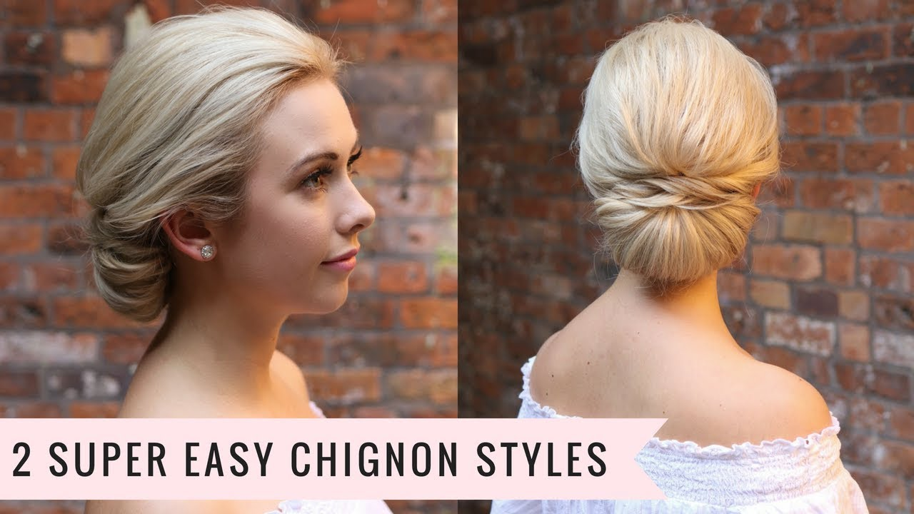 10 Super Easy Chignon Styles by SweetHearts Hair