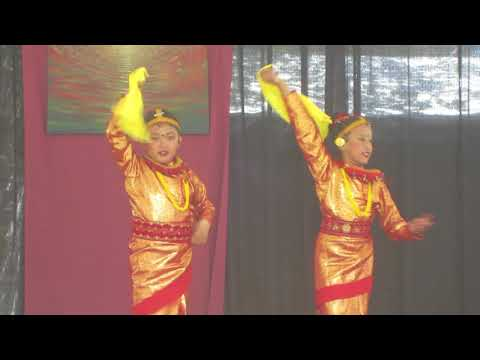 Nepalese kids dance performance in Himalayan Fair, Berkeley