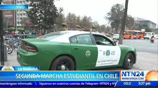 Confederación de Estudiantes en Chile convocó a marcha para exigir una educación no sexista
