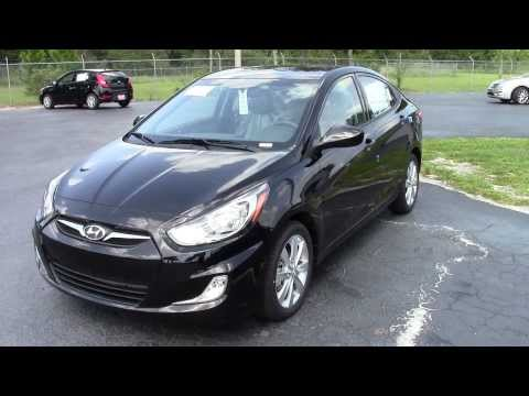 New Hyundai Accent 4 Door Walk Around