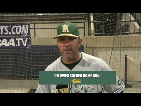 Tribe Baseball Post Game Interview: CAA Second Round vs. UNCW