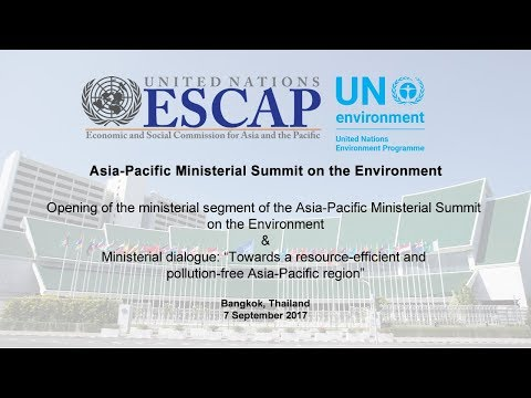 Opening of the Ministerial Segment and Ministerial dialogue