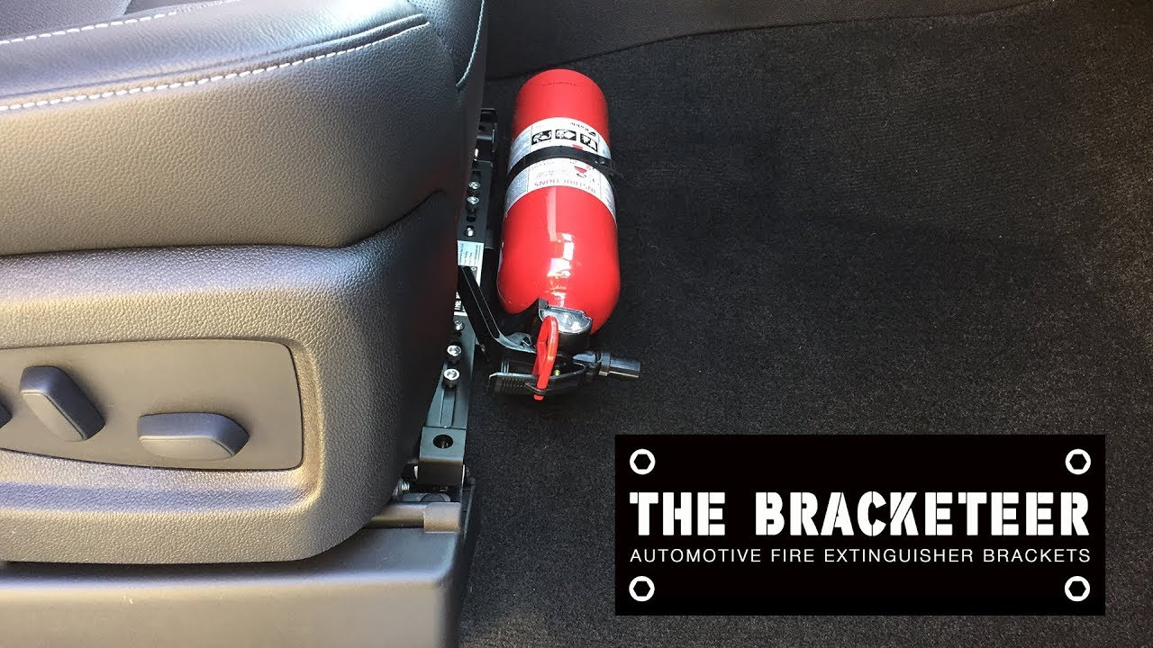 Car Fire Extinguisher >> How To Install A Fire Extinguisher In Your Car