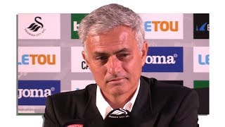 Swansea 0-4 manchester united - jose mourinho full post match press conference - premier league