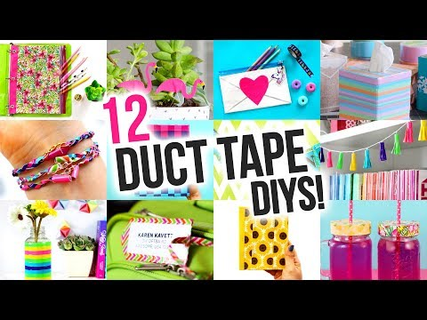 DIY Ideas to Make out of DUCT TAPE - DIY Compilation Video | @karenkavett