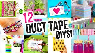 Gambar cover DIY Ideas to Make out of DUCT TAPE - DIY Compilation Video | @karenkavett